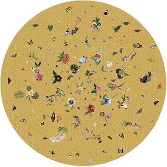 MOOOI_CARPETS Garden of Eden Yellow PA 100% D250 ковер