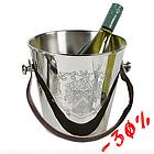 Ведро для вина с кож. ручками EH ACC04010