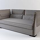 VITFRI VF50203 Clivio Sofa 3 seats cm 250 Pelle B Plus Leather B Plus NUBUK/2118 Gold zip Gold zip Gold zip