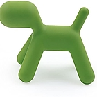 MAGIS Puppy MT54 V green 1001 C Large dog in polyethylene