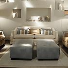 SOFT ENEA Sofa 2 posti L.225x105x87h