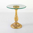 CEL art.FTTY 342 LAMP-TABLE WITH BEV.GLASSTOP finitura №392 lacca rosso/nero