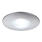 SLV 112240 DEKLED recessed light, round, silver metallic, 1W LED, white , 4000K Светильник встроенный, светодиодный, 1Вт. В 30мм H 50мм,  встр d-25 h-15