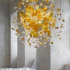 LASVIT Bubbles in Space, colour clear and amber 07J090-20