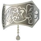 LEU charme p bianco/platina   0205005363305 бра   цвет белый/платина