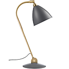 GUBI Bestlite Table Lamp BL2 001-02136 Grey/Brass