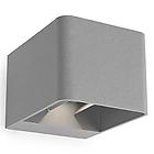 LED 05-9683-z5-CLV1 бра  уличное ,металл серебристый металлик IP44, размеры:130*110*90