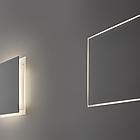 PNZ X02201.030.0112 ALDECIMO PARETE A INCASSO BIANCO LED -BILEVEL