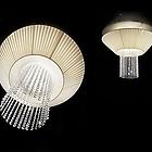LIKA 52155 PLBROLLO70E27 P02 Ceiling lamp 2 X E27 42W HALOGEN ECO ø 700 H200  потолочник   (цвет беж)  D-700mm H-200mm