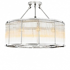 EH Ceiling Lamp  Bernardi 112382 nickel finish clear glass D80 H61 потолочник