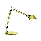 AT A011840 TOLOMEO MICRO with base: anodized yellow