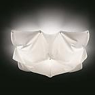 LIKA 52637 PLKLUCY110E27 C01 Ceiling lamp 3 X E27 42W HALOGEN ECO 1110X1100 H200  потолочник (цвет белый)  L-1100mm*1100mm H-200mm