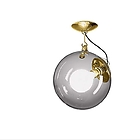 AT A022810 MICONOS CEILING crystal diffuser, brass satinised structure