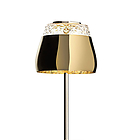 MOOOI MOLVATA---X Valentine table lamp, gold 21x21x45 cm