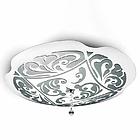 LEU charme p-pl 50 bianco/platina  0204010363332 потолочник D-500mm цвет белый/платина