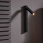 WD 159654K5 MICK SNOOZE WALL SURFACE 1.0 LED 7.5W CRI90 3000K BLACK + GOLD SNOOT