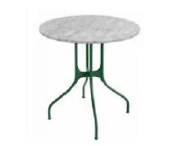 MAGIS Table Milla  TV3200 + TV3510 dark green 5265 HPL white 8500