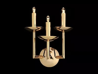AIARDINI 328/AP/3L METROPOLITAN Applique 3 light polished gold