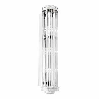 EH Wall Lamp Gascone XL 112345 nickel finish/clear glass бра