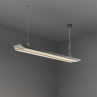 MDL 14081172 Vaeder suspension (power feed surface) LED 3000K GI dali/pushdim/1-10V black struc - white подвес